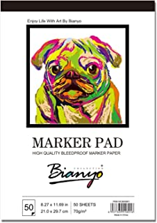 Bianyo Bleedproof Paper for Markers Pad- 9