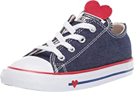 c84dbf1357c434 Converse Kids Chuck Taylor All Star Maddie - Ox (Infant Toddler) at ...
