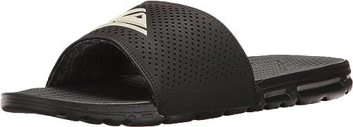 Quikargent - Sandales à glissière amphibie Homme, Homme, 38, noir noir blanc