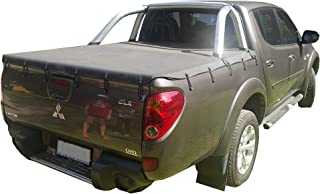 Mitsubishi Triton MN Dual Cab October 2009 to June 2015 Suits Sports Bar & Without Headboard Bunji Tonneau Cover.