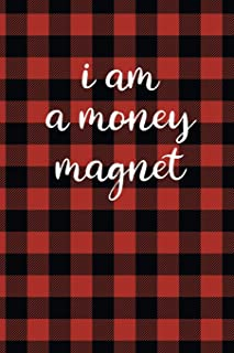 Law of Attraction Journal: I Am A Money Magnet Red and Black Buffalo Plaid Law of Attraction Workbook To Be Used as a Manifestation Workbook or ... Gratitude To Make Your Dreams Become Reality.