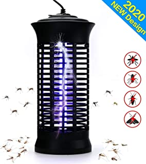 TBOYUAN Bug Zapper, Mosquito Killer, Fly Insect Trap Indoor, Fly Killer, Mosquito Killer Lamp with Brush, Electric Mosquit...