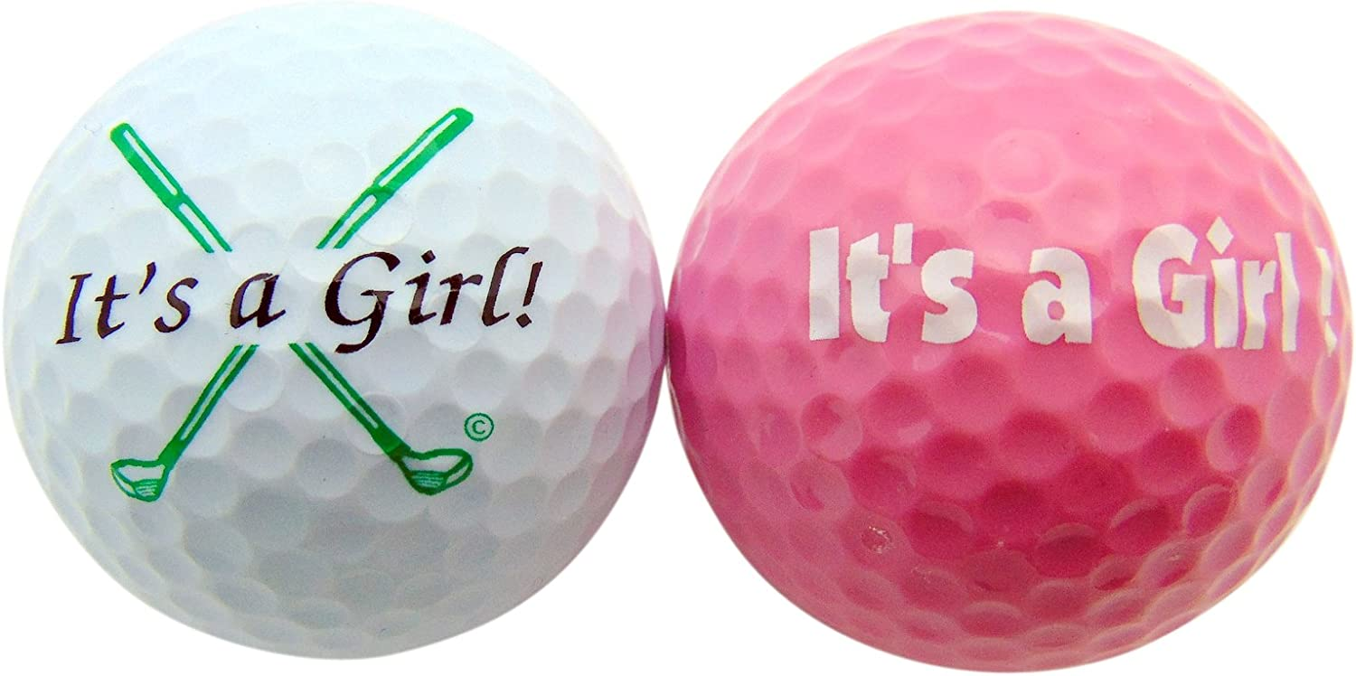 Westman Works Its a List depot price Girl Novelty Golf Pack Gift Ball of 2 Set