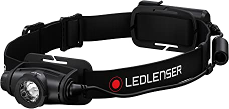 Ledlenser, H5 Core Headlamp, 350 lumens, Advanced Focus System, Battery Operated, Dimmable, Dustproof, Waterproof, Ledlens...