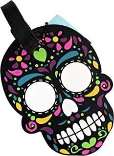 By Mexico Identificador de Maletas Modelo Calavera