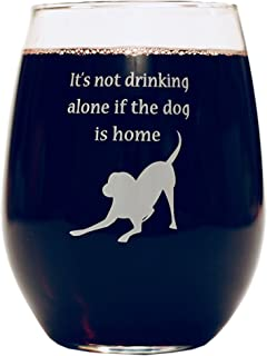 """Funny Wine Glass 