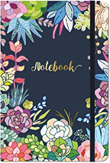 """Ruled Notebook/Journal - Lined Journal, 8.4"""" X 5.8"""", Hardcover, Page Mark, Thick Back Pocket, Lay Flat 360° to Write Easy with Premium Paper, Ruled Journal, Perfect for School, Office & Home"""