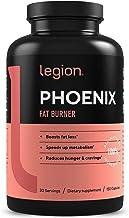 Legion Phoenix Thermogenic Fat Burners & Weight Loss Pills for Men & Women - 100% Natural & Caffeine Free Dietary Suppleme...