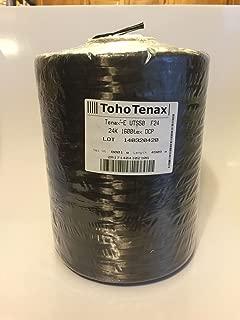 Carbon Fiber Tow - 24k - 100 feet Continuous Length - UTS50 Tenax-E
