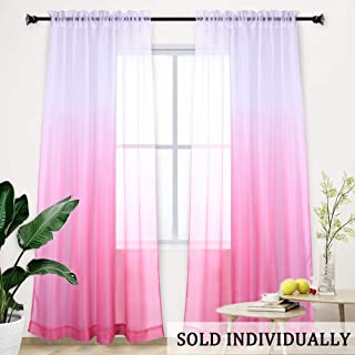 Best pink and gray ombre curtains Reviews