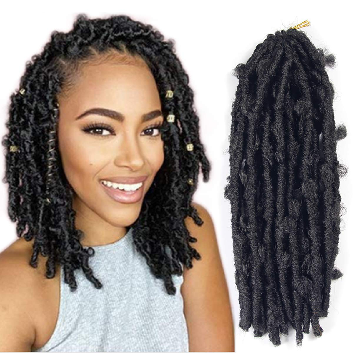 6 Packs Butterfly Locs Crochet Hair Looped Pre Inch Sale 12 Distresse Mesa Mall