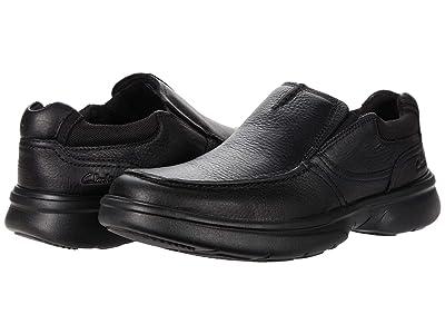 Clarks Bradley Free (Black Tumbled Leather) Men