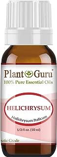 Helichrysum Italicum (French Immortelle) Essential Oil 10 ml 100% Pure Undiluted Therapeutic Grade.