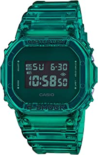 Men's Casio G-Shock Digital Color Skeleton Series Green...