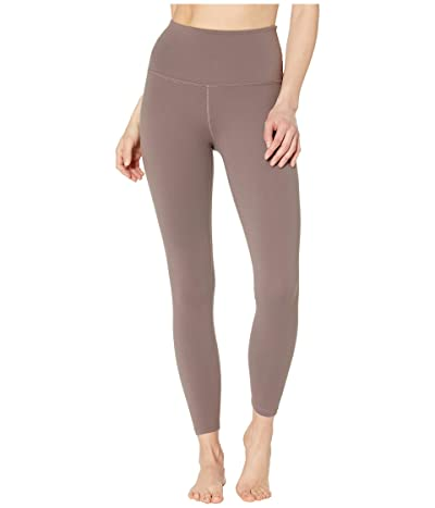 Beyond Yoga High Waist Midi Leggings (Terra Leather) Women
