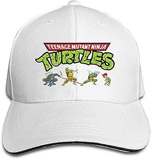 Teenage Mutant Ninja Turtles Adjustable Sandwich Peak Baseball Cap Hat