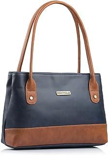 Fostelo Women's Zara Handbag (Blue) (FSB-1052)