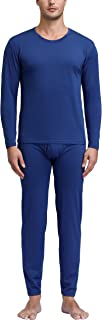 Degrees of Comfort Breathable Thick Fabric Mens Thermals Top and Bottom Set