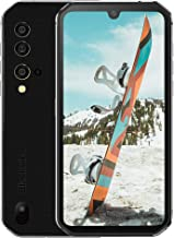 """Blackview BV9900 Rugged Cell Phones Unlocked, IP68 Waterproof Smartphone, Helio P90 Octa-core 8GB+256GB ROM, 48MP Four Rear Camera, 5.84"""" FHD+ Screen Android 9.0 4380mAh Dual 4G Rugged Phone (Silver)"""