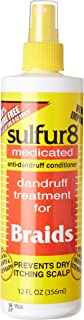 Sulfur 8 Dandruff Treatment For Braids 12 oz. Spray