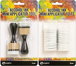 Tim Holtz Adirondack Alcohol Ink Applicator Felt 50//Pkg-For TIM20745