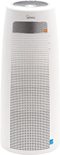 Winix QS, 4 Stage True HEPA Tower Bluetooth and JBL Speakers Air Purifier, 320 Sq. Ft, White