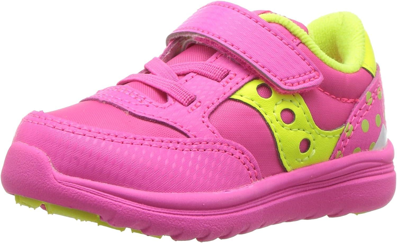 Saucony Baby Jazz Lite Sneaker, Pink Monster, 5 M US Toddler