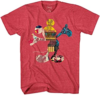 Mickey Mouse Fill Me Graphic Tee Classic Vintage Disneyland World Mens Adult T-Shirt