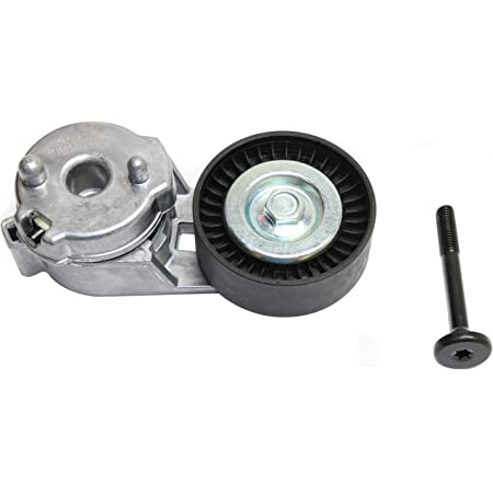 SCITOO 419-016 Belt Tensioner with Pulley Fits 2002-2006 J-eep Wrangler