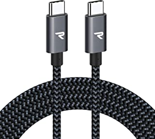 comprar comparacion RAMPOW Cable USB C a USB C 20V/3A 60W 2M Cable Tipo C a Tipo C con Power Delivery Compatible para Macbook Pro 2016/2017,...