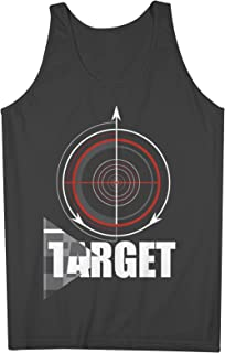Target Crosshair 男性用 Tank Top Sleeveless Shirt