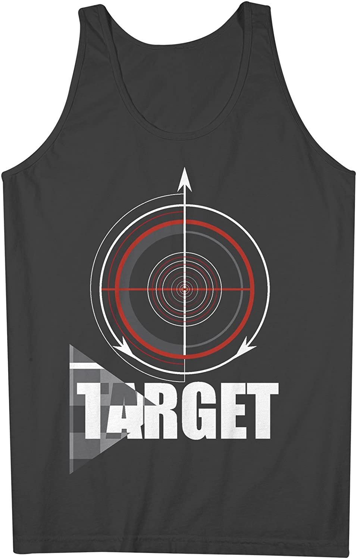 Target Crosshair 男性用 Tank Top Sleeveless Shirt