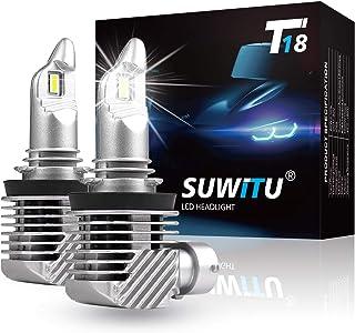 Sponsored Ad - SUWITU H11/H9/H8 LED Headlight Bulbs - Fanless 60W 12000 Lm Super Bright LED Headlight Bulb Conversion Kit ...