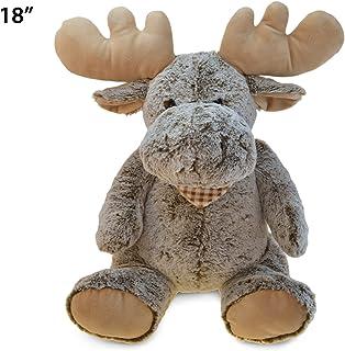 """Puzzled Super Soft Sitting Moose Plush, 18""""/X-Large"""