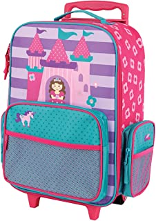 Stephen Joseph Girls Classic Rolling Luggage Backpack, Princess, One Size