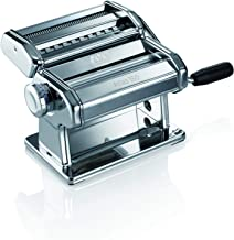 Marcato Design Atlas 150 Pasta Machine, Made in Italy, Includes Cutter, Hand Crank, and..