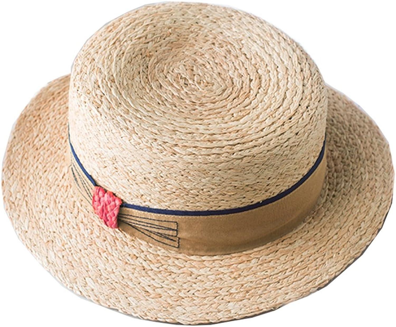 Chunlan Sun Hat Grass Hat Female Summer Weave Straw Hat Beach Sun Hat