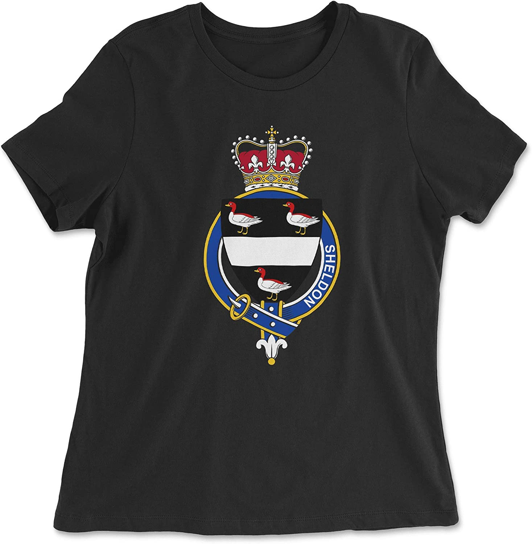 HARD EDGE DESIGN Women's English Garter Family Sheldon T-Shirt