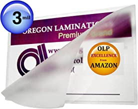 Qty 200 Double Letter Laminating Pouches 3 Mil 11-1/2 x 17-1/2 Hot Laminator Sleeves