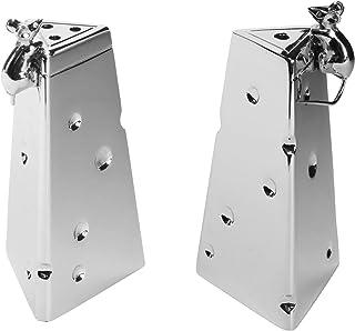 """Elegance Functional Mice Salt/Pepper Shaker, 3"""", Silver"""