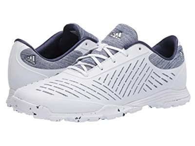 adidas Golf Adipure Sport 2.0 (Footwear White/Silver Metallic/Tech Indigo) Women