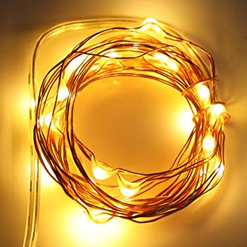 10 PACK LED Fairy String Lights Starry Rope Copper Wire Lights Xmas Party Decor
