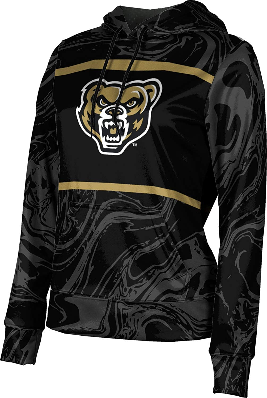 ProSphere Oakland University Girls' Pullover Hoodie, School Spirit Sweatshirt (Ripple)