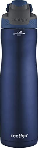 Contigo Autoseal Chill Vacuum-Insulated Stainless Steel Water Bottle, 24 Oz., Monaco product image