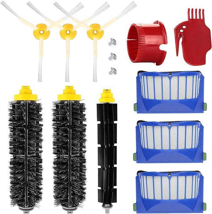 730 opinioni per Energup Kit Accessori Ricambio per Roomba 600 650 620 651 621 615 616 605 Filtro