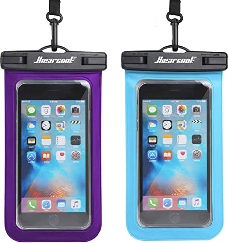 Universal Waterproof Case,Waterproof Phone Pouch Compatible for iPhone 12 Pro 11 Pro Max XS Max XR X 8 7 Samsung Gala...