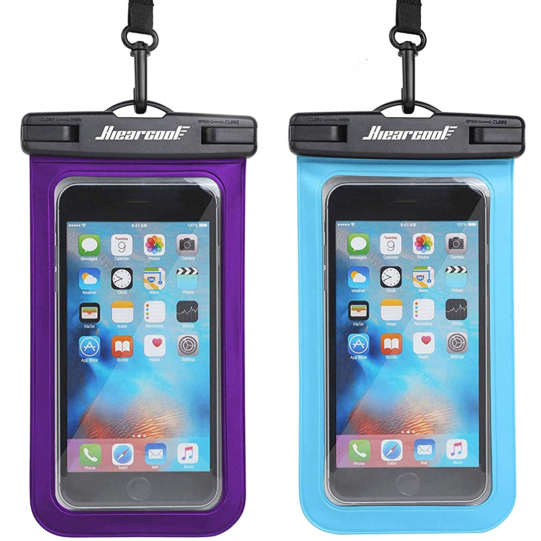 Universal Waterproof Case - Ansot IPX8 Waterproof Phone Pouch - Cellphone Dry Bag for iPhone X/8/ 8plus/7/7plus/6s/6/6s Plus Samsung Galaxy s8/s7 Google Pixel 2 HTC LG Sony Moto up to 7.0