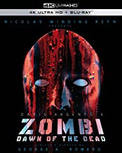 Dawn of the Dead Zombi Set with European Cut, Theatrical Cut, and Extended Theatrical Cut 4K UHD +5 Region B Italy