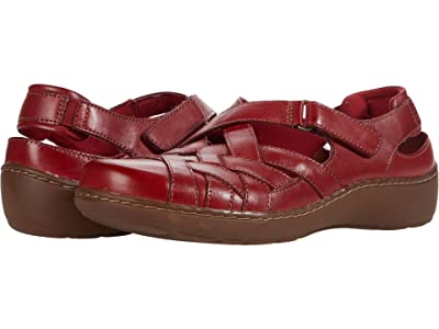 Clarks Cora Dream (Red Leather) Women