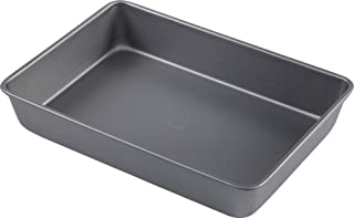 T-fal 84886 Commercial Oblong Nonstick Cake Pan, 9